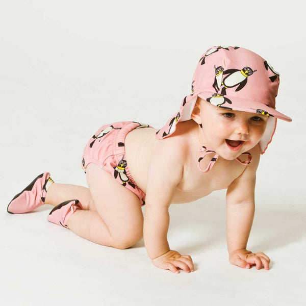 Rose Penguin Swim Hat