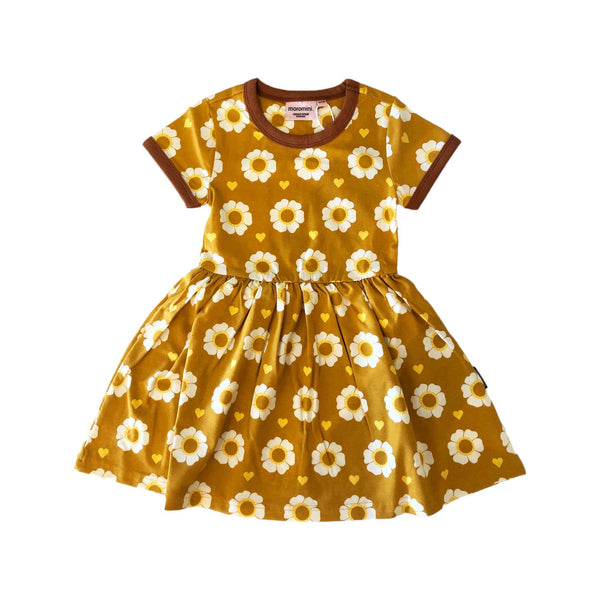 70's Flower Twirly Dress