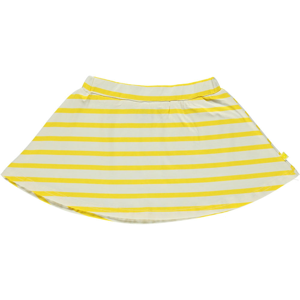 Yellow Stripey Skirt