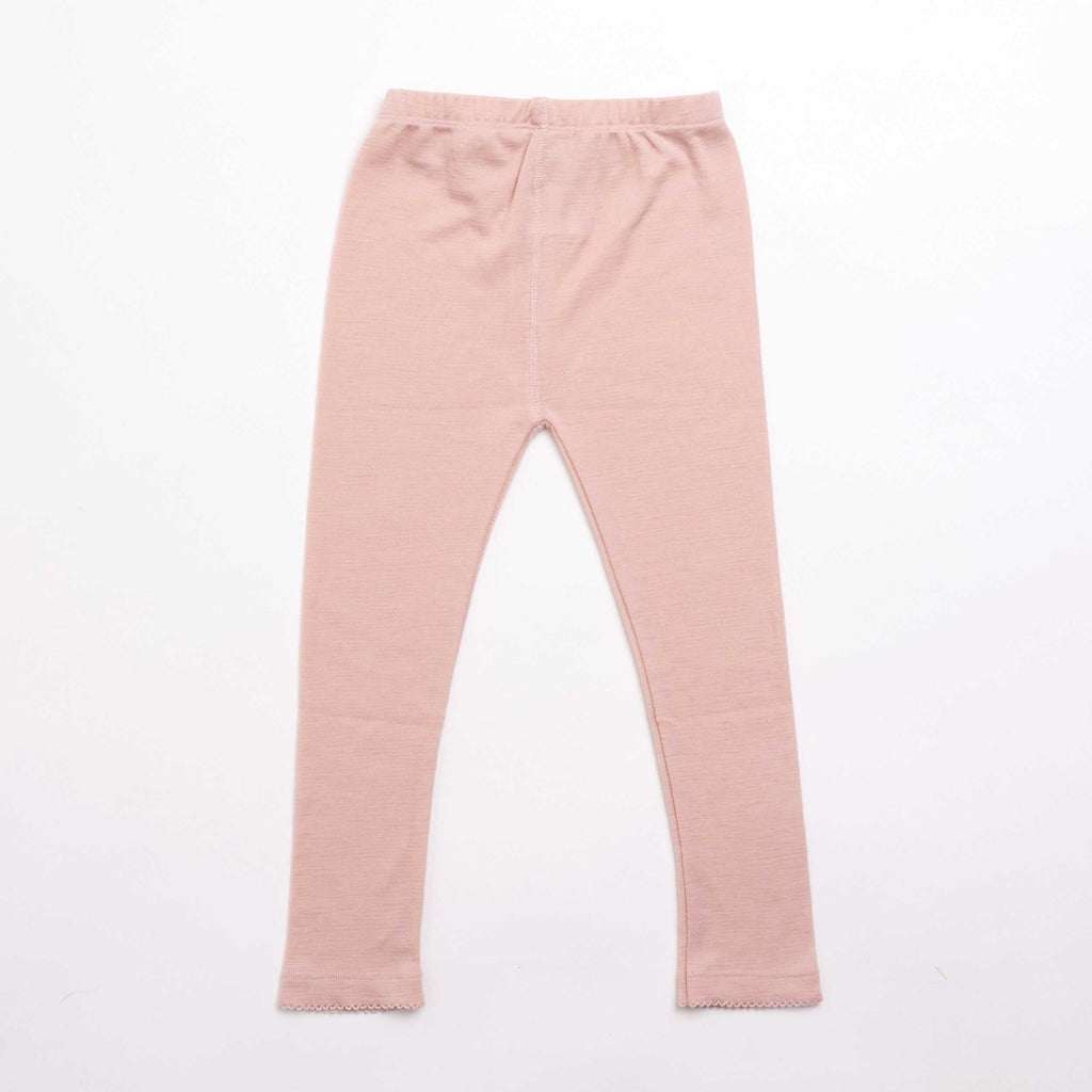 Soft Pink Merino Wool Pants