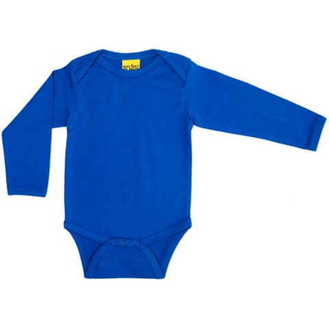 Blue Long Sleeve Onesie