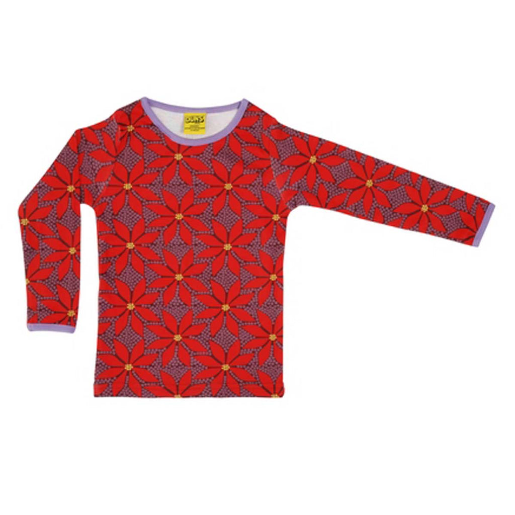 Poinsettia Wine Shirt