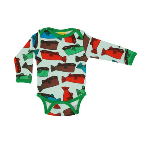 Fugu Fish Long Sleeve Onesie
