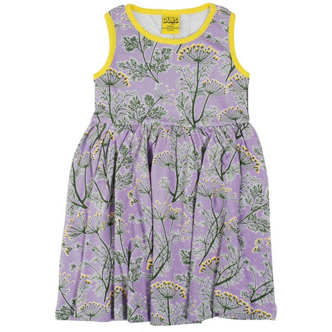 Dill Violet Twirly Dress
