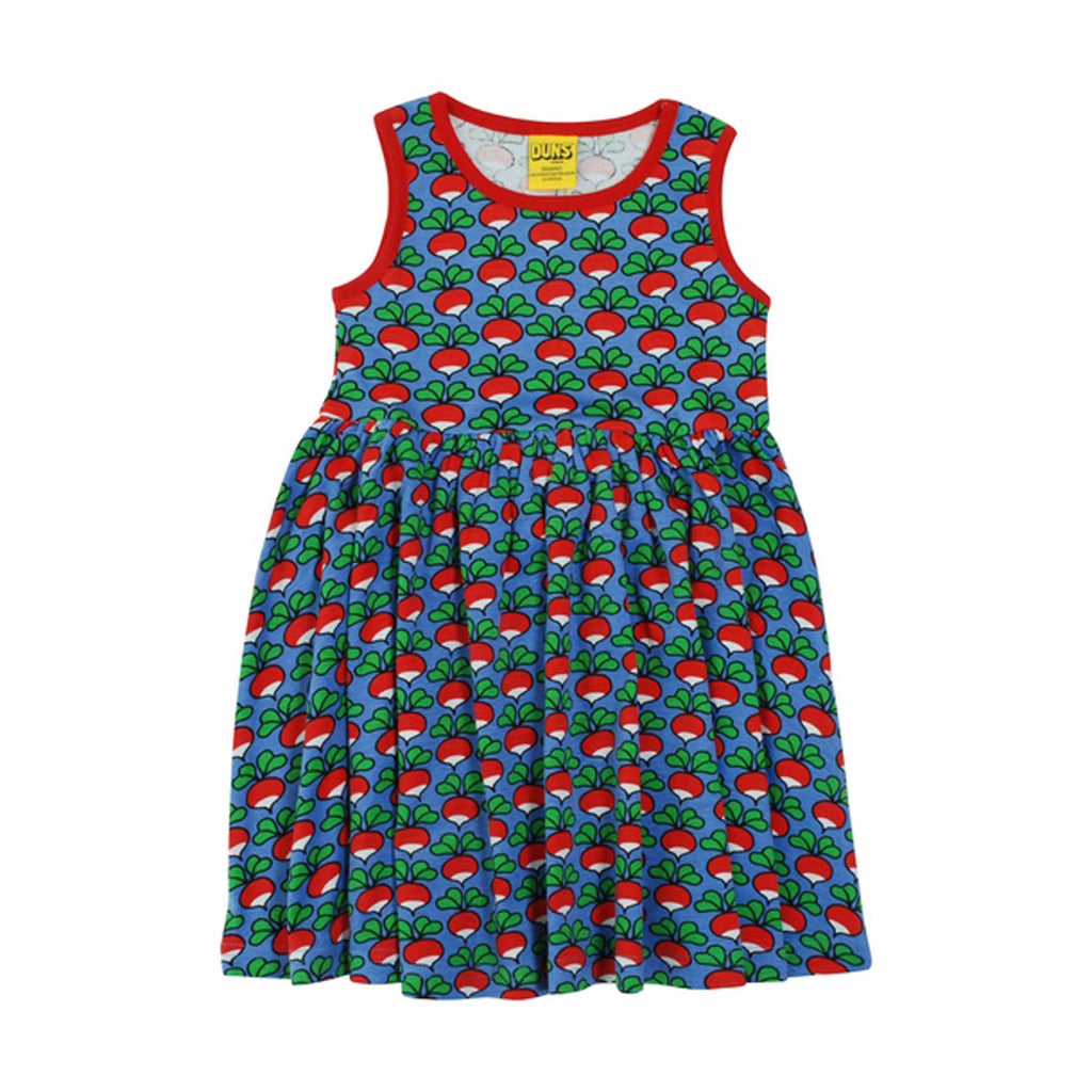Cornflower Radish Twirly Dress
