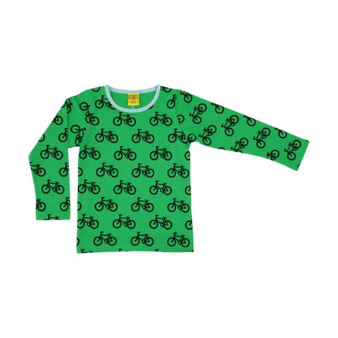 Green Long Sleeve Bike Shirt