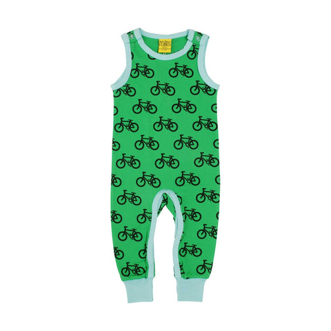 Green Bike Dungaree