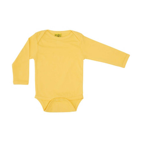 Mellow Yellow Long Sleeve Onesie