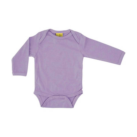Violet Long Sleeve Onesie