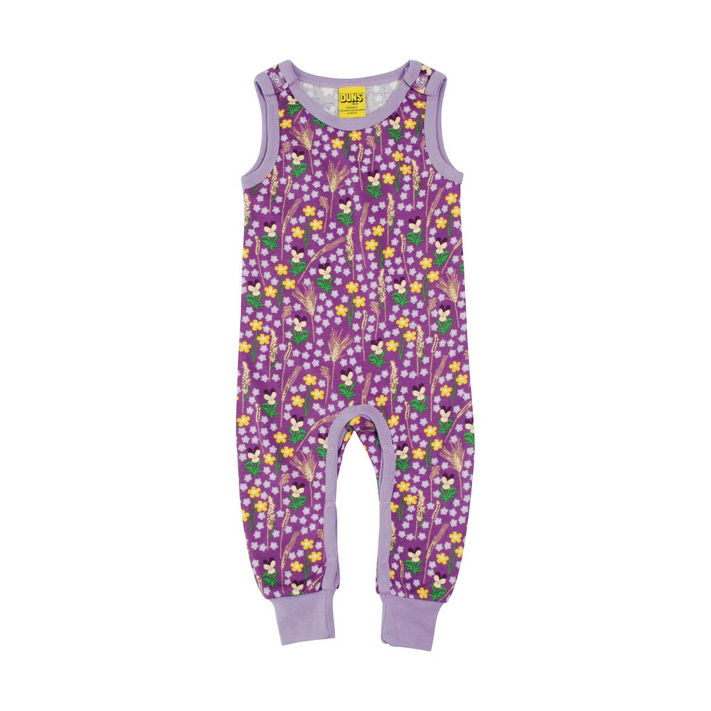 Purple Meadow Dungaree