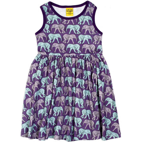 Elephant Walk Twirl Dress
