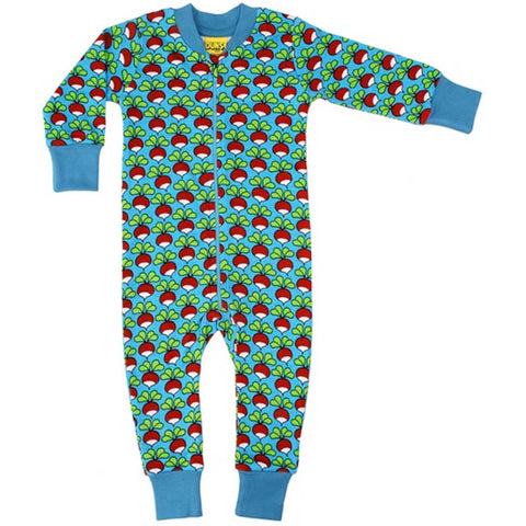 Niagara Blue Radish Zip Suit