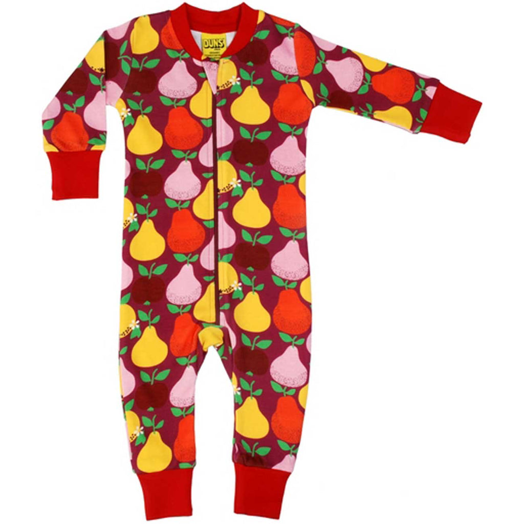 Boysenberry Pear Zip Suit