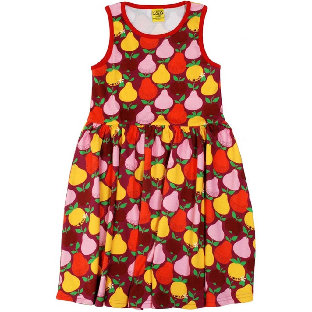Boysenberry Pear Twirl Dress