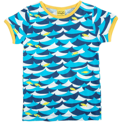 Blue Jumping Fish T-Shirt