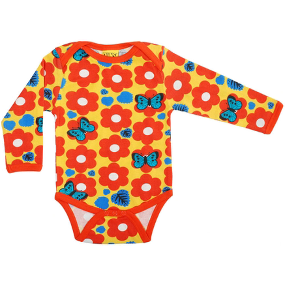 Retro Flower Onesie