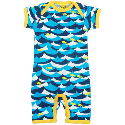 Blue Fish Summer Romper