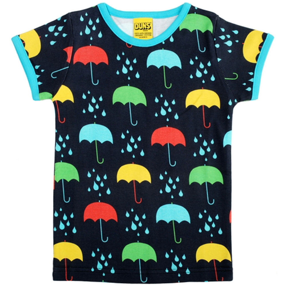 Umbrella and Raindrop T-Shirt