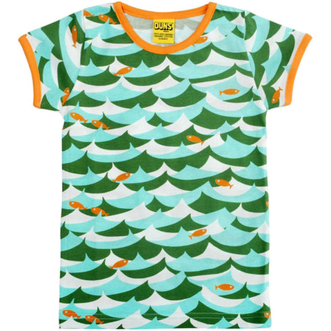Green Jumping Fish T-Shirt