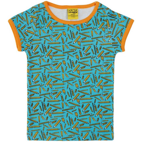 Pencils Turquoise T-Shirt