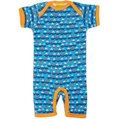 Sailing Boats Summer Romper