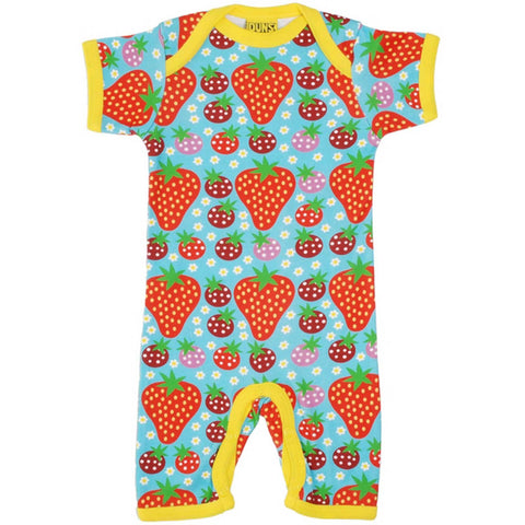 Strawberry Field Summer Romper