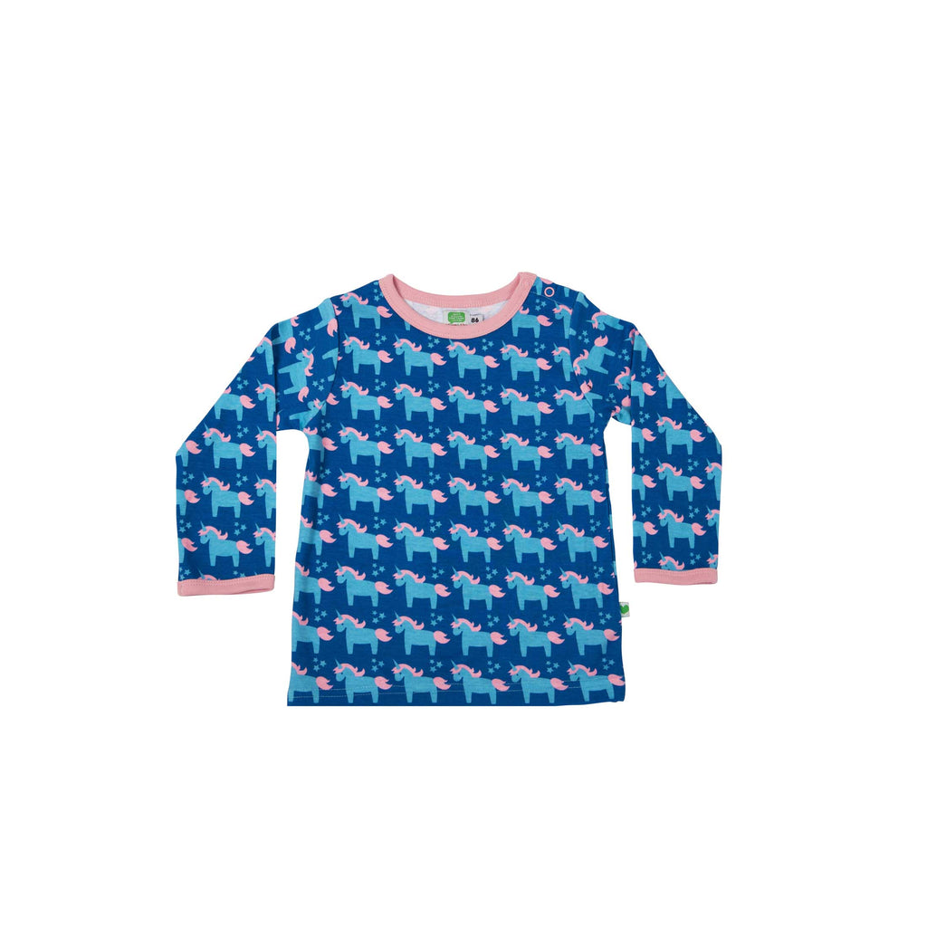 Blue Unicorn Shirt