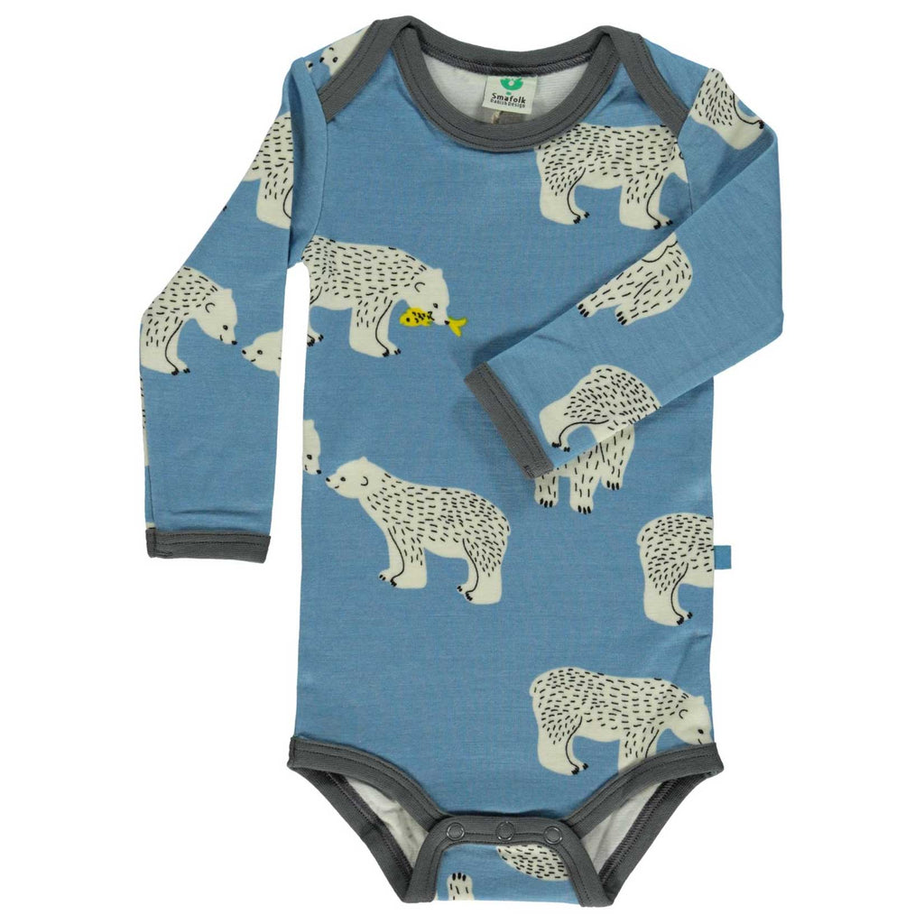 Wool Mix Polar Bear Onesie