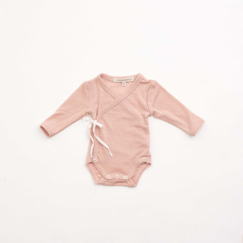 Wrap Front Soft Pink Body