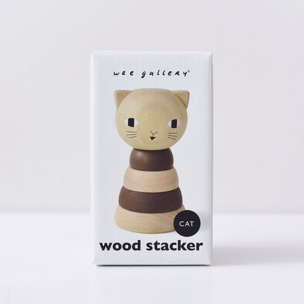Cat Wood Stacker