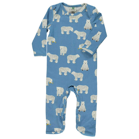 Blue Polar Bear Romper