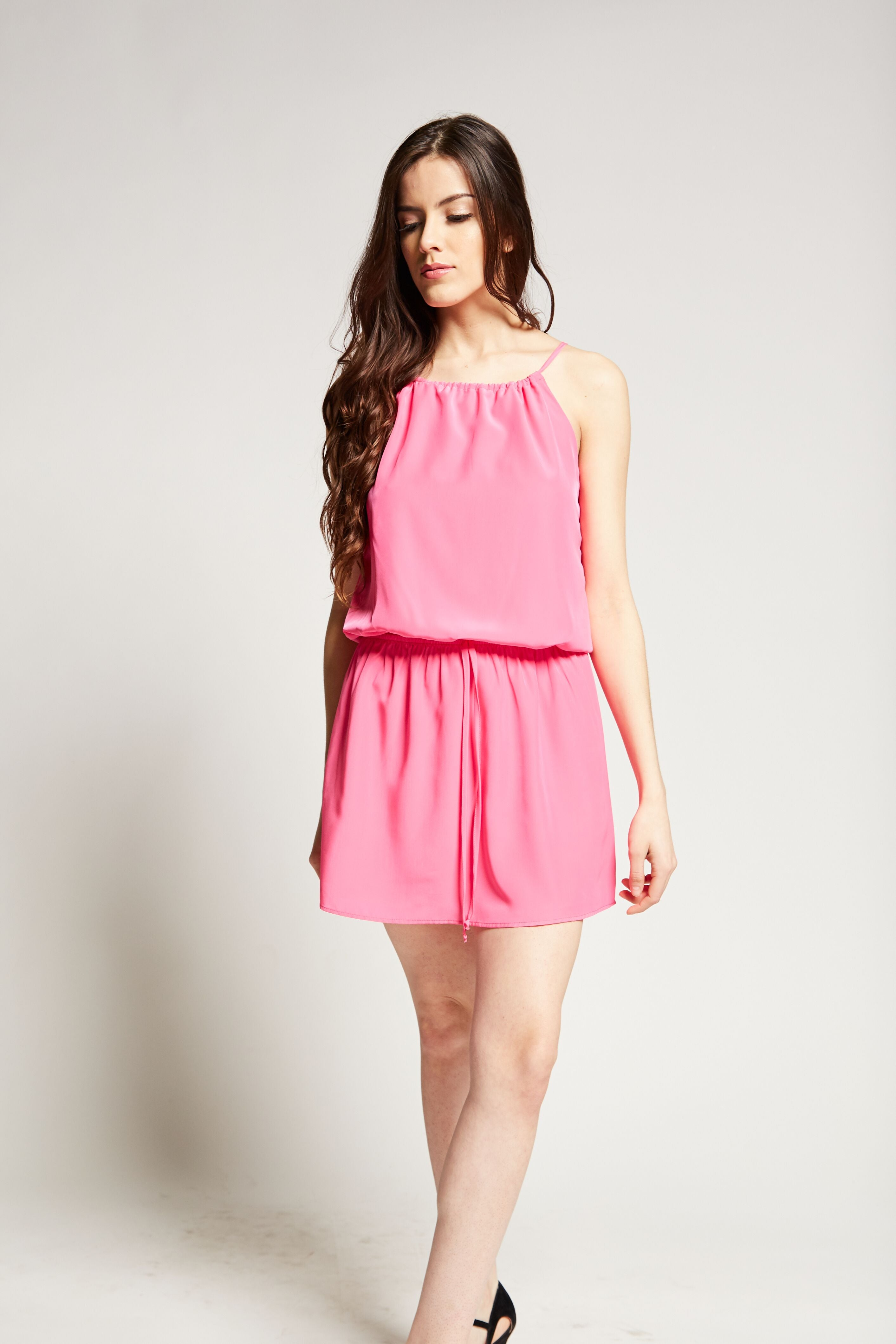 Aurora Mini Dress | Bubble Gum