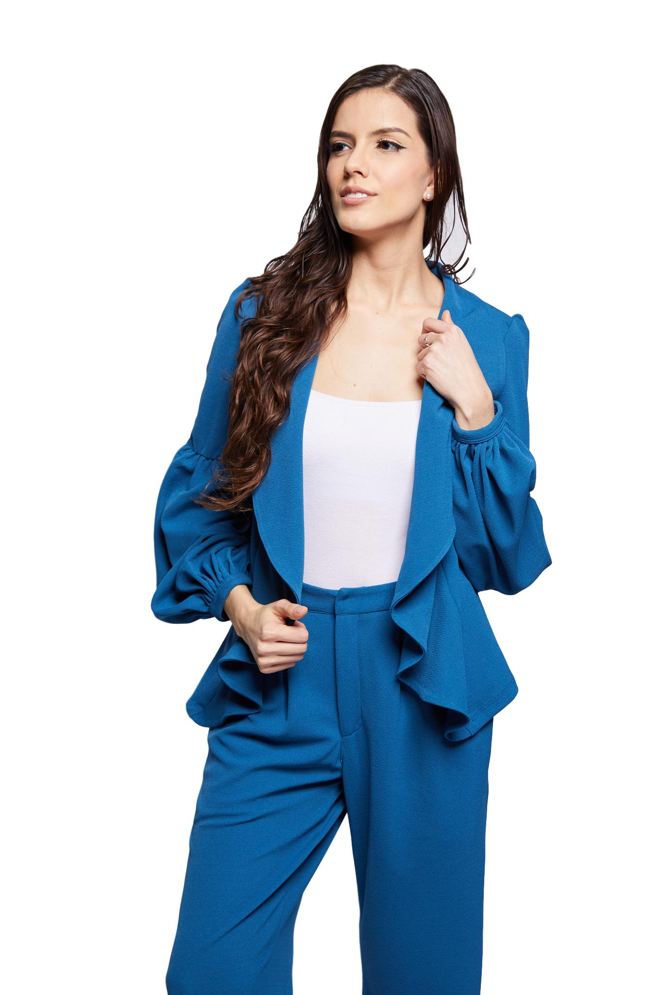 NEW! Carine Blazer | Blue Bonnet