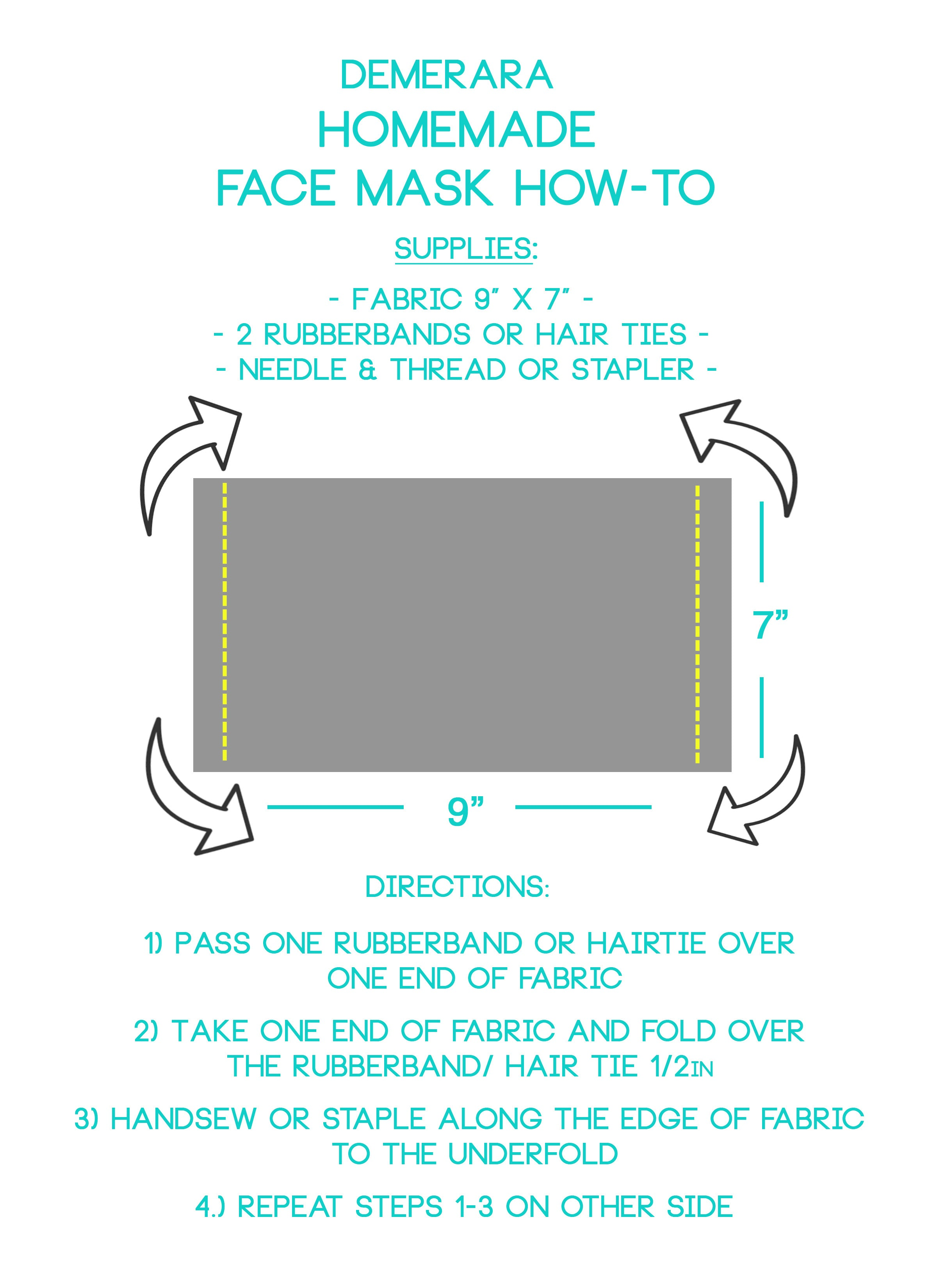 *FREE 5 Min Home Face Mask How-To*