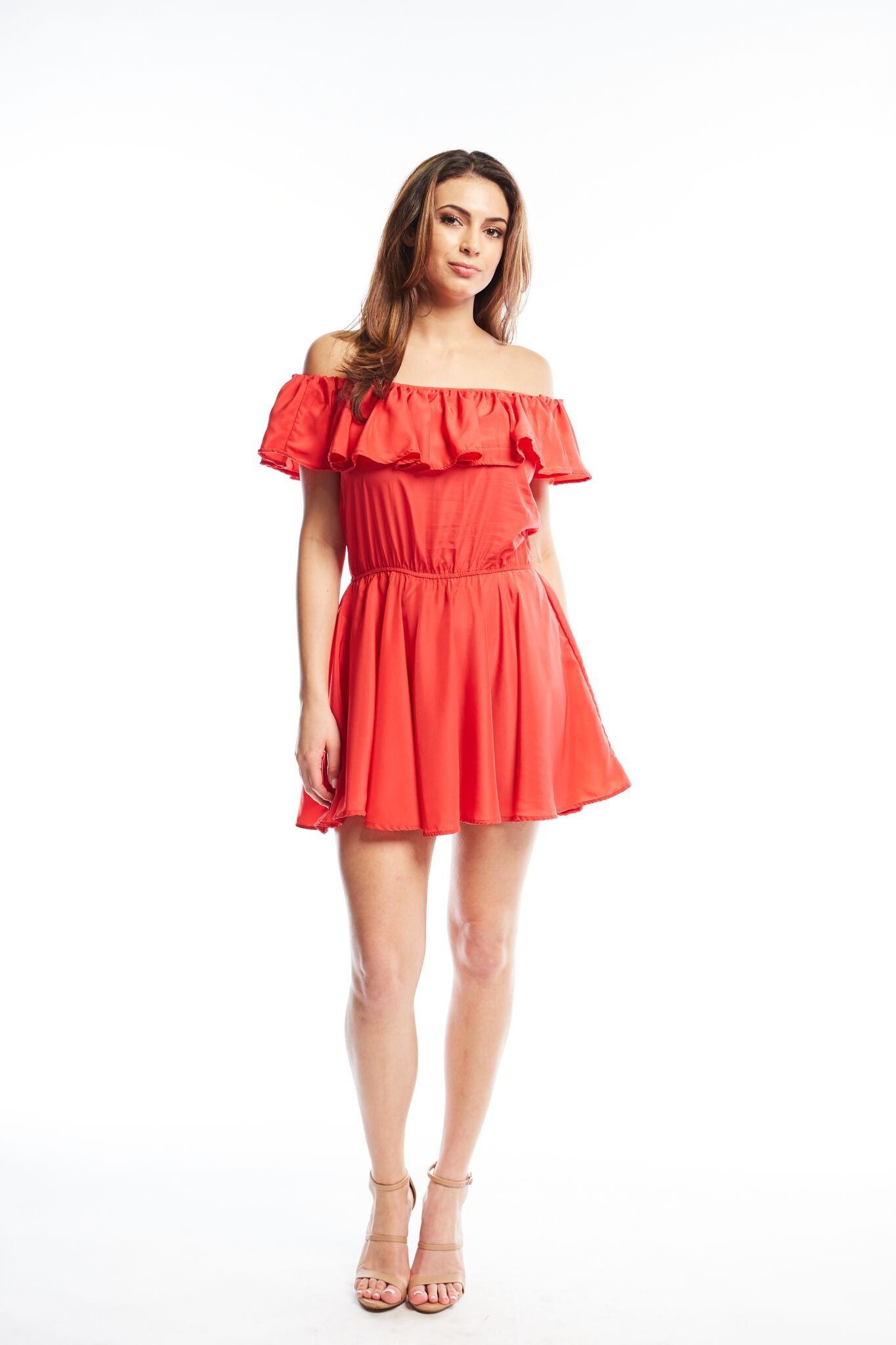 Rose Mini Dress | Fire