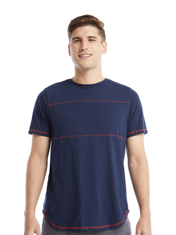 Jay Tee | Navy/Red