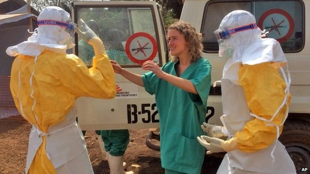 Ebola Outbreak - courtesy of BBC.co.uk