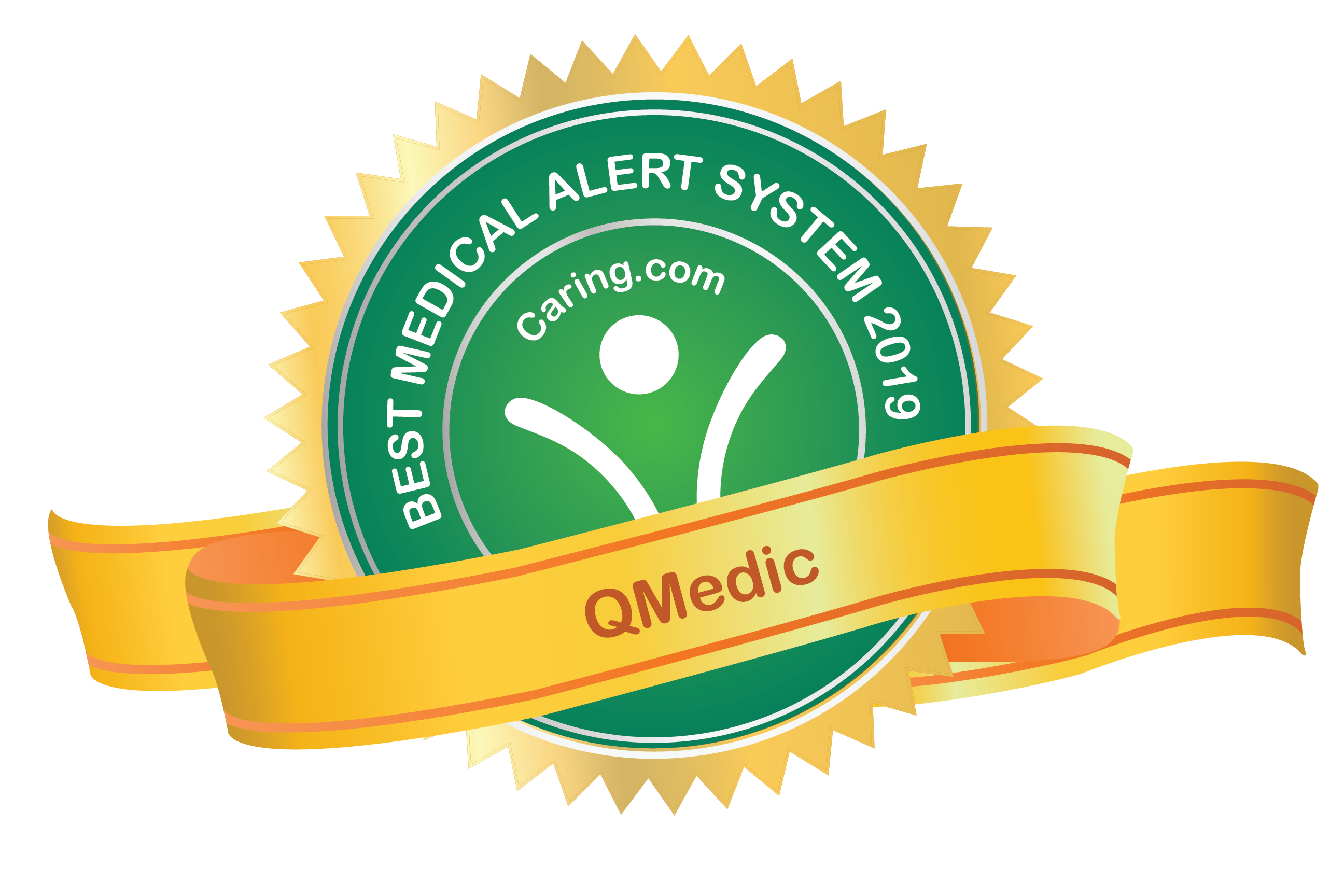 Caring.com Best Medical Alert Systems - QMedic - Best Compliance Monitoring 2019