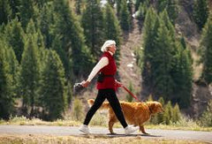 Senior walking - from webmd.com