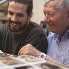Man with son at patient-centered medical home