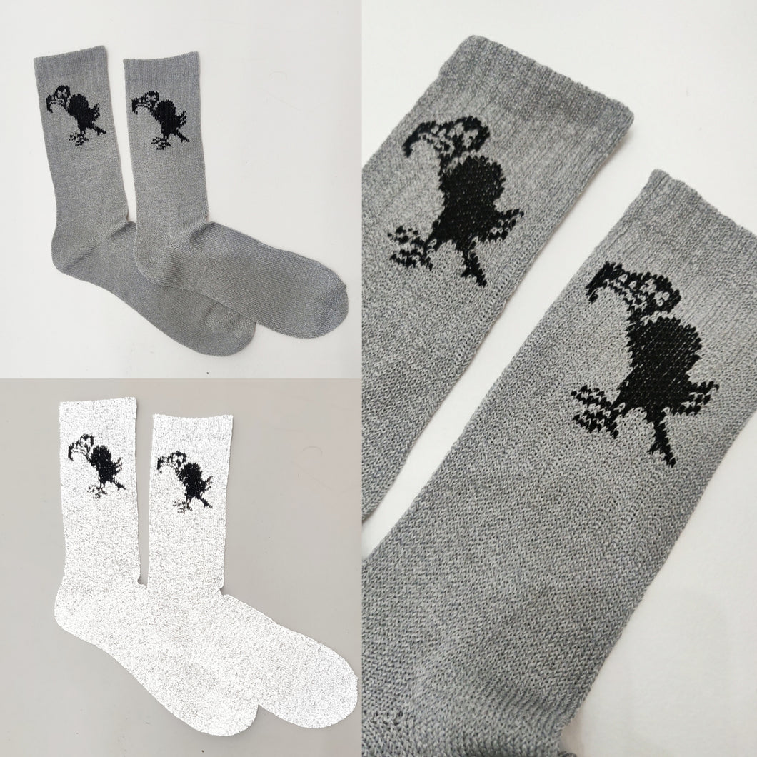 SIA Culture Vulture Reflective tube socks