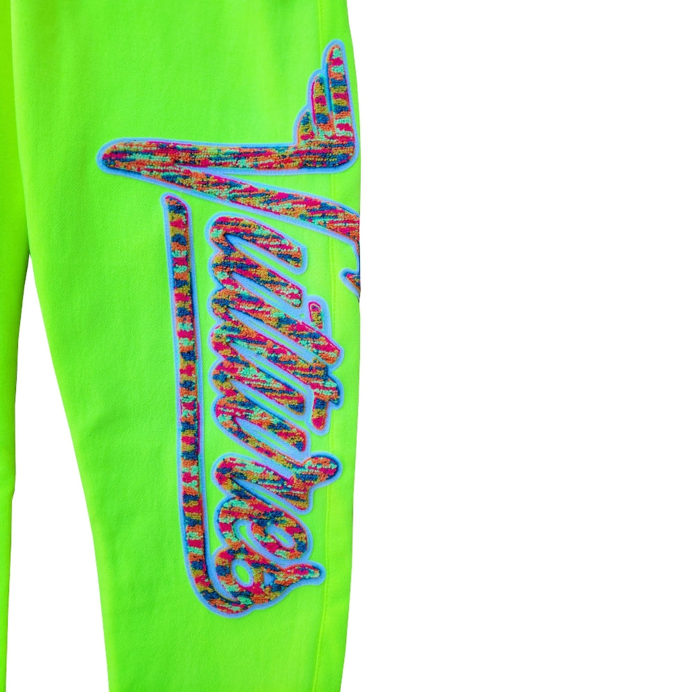"Load image into Gallery viewer, SIA ""NUKE ANTZ"" VOLT LOGO BOTTOM JOGGERS"