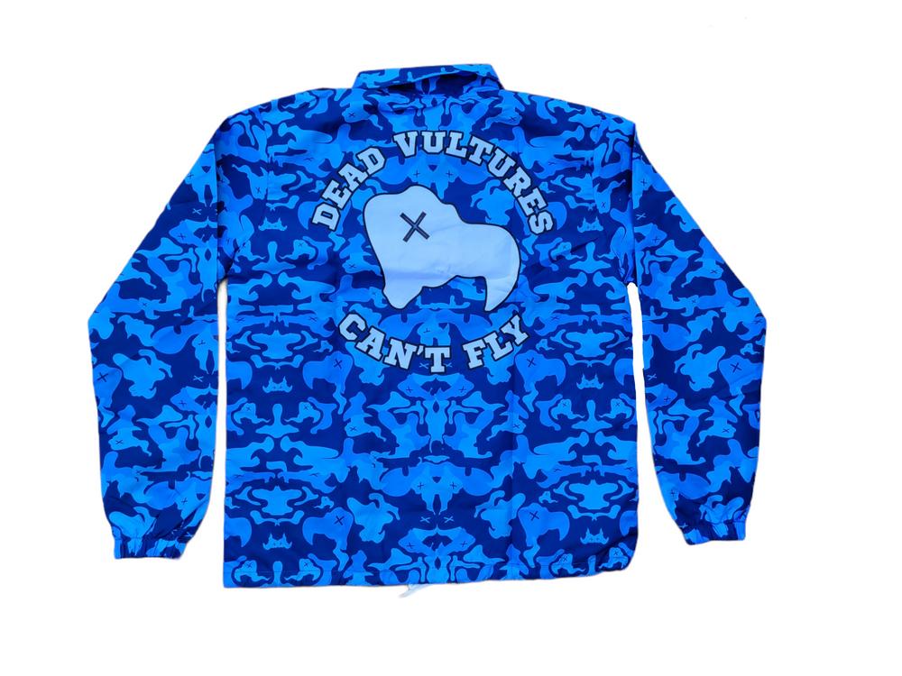 "Load image into Gallery viewer, SIA ""BLUE CAMO"" COACHES JACKET"