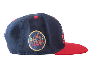 "Load image into Gallery viewer, SIA BLUE ""WINTER GAMES"" SNAPBACK"
