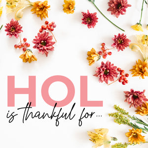 House of Lashes is Thankful for...