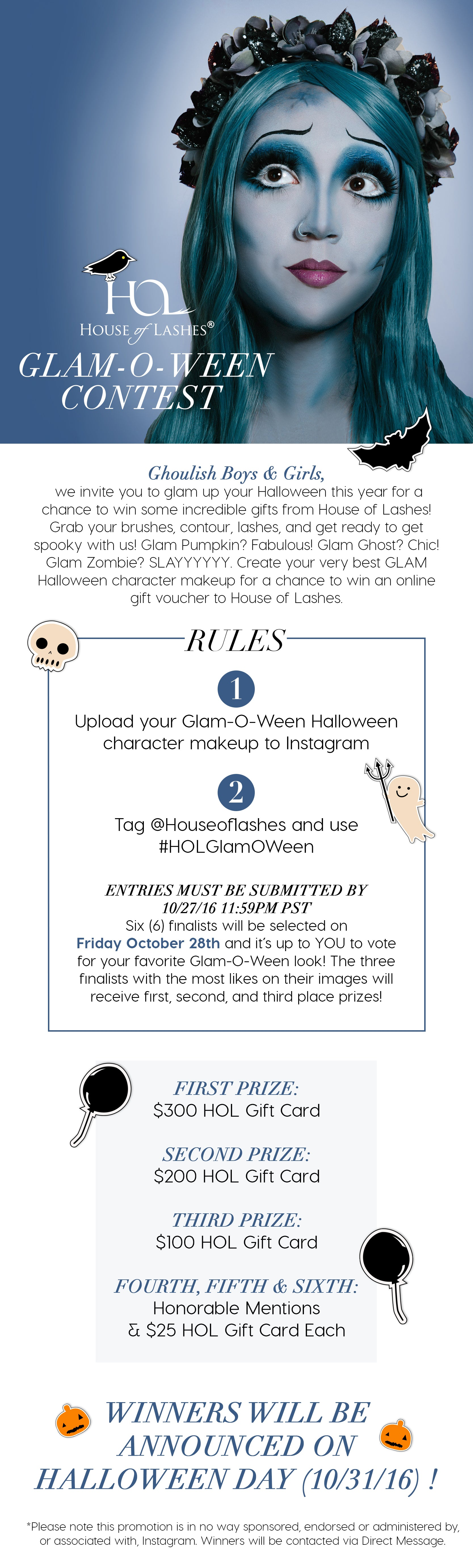 House of Lashes Glam-O-Ween