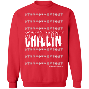 Chillin' Crew Neck Sweatshirt - Holiday Collection