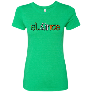 Celtic Warrior - Slainte Ladies' Tee
