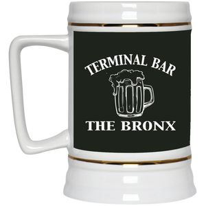 Terminal Bar - Bars Of The Bronx Beer Stein 22oz.