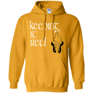 Celtic Warrior - Keeping It Reel Pullover Hooded Sweatshirt